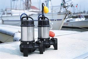 Tsurumi Seawater Submersible Pumps