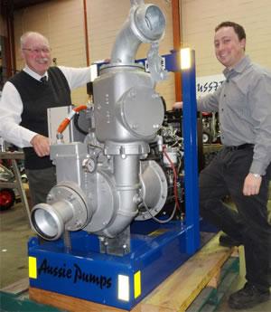 Auto Prime Dewatering Pump