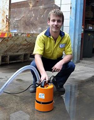LSC Tsurumi Residue Dewatering Pump