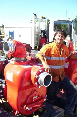 Aussie 6 Inch Diesel Trash Pump