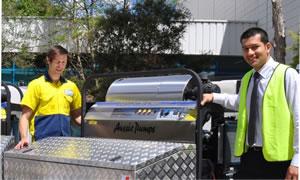 Aussie Hydrotek Diesel Powered Steam Cleaner