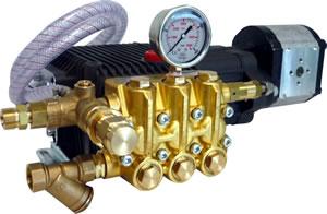 Heavy Duty Hydraulic Drive High Pressure Cleaners