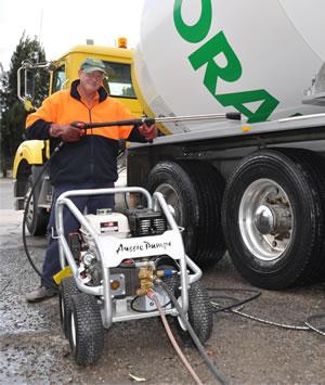 Aussie Scud engine drive pressure cleaner