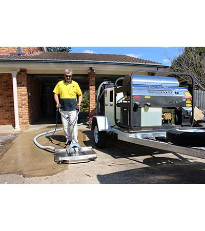 Steam Cleaners Cleaning Equipment Hydro Loop trailer mount