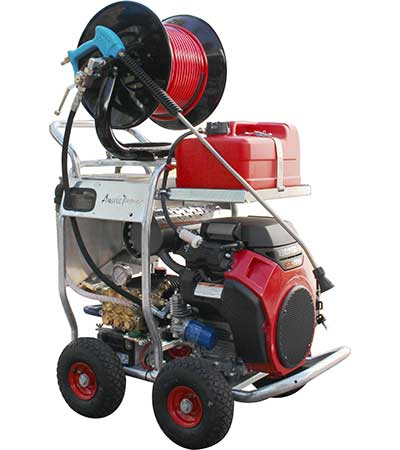 Drain Cleaning Jetters Cleaning Equipment King Cobra Jetter Honda GX690