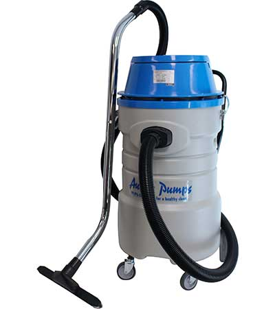 Industrial Wet Dry Vacs Cleaning Equipment VC72 right