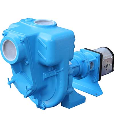 GMP Pumps G3TMK A ST Hyd cast iron hydraulic drive semi trash pump