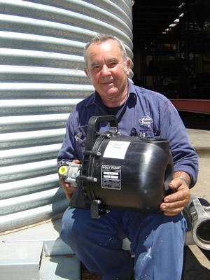 hydraulic drive salt water pump