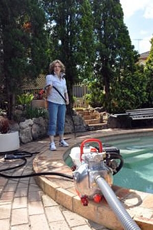 pool resource for fighting fires