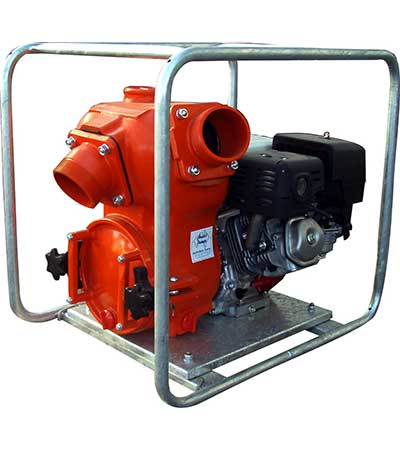 Aussie Trash Pump QP Pumps QP40T GX390 Honda