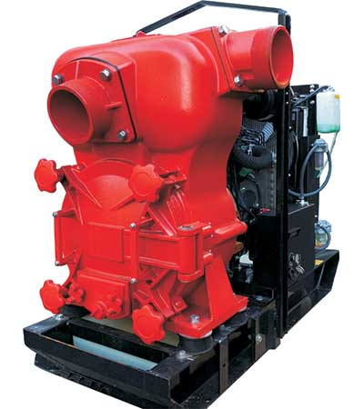 Skid Mounted Trash Pump QP Pumps QP60TDK Kubota