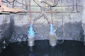 Tsurumi 1000v submersible dewatering pumps