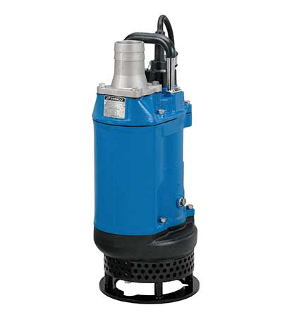 Tsurumi Pumps KTD33.0 slurry pump cast iron 2 pole