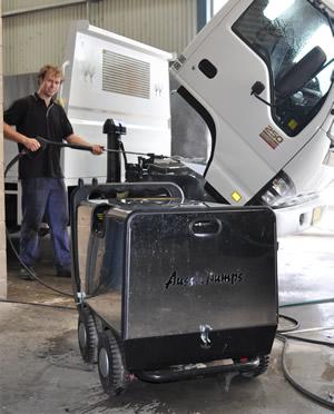 Super Indy MNk III steam cleaner