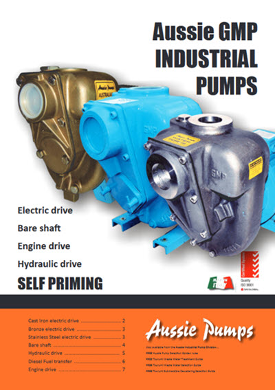 aussie gmp industrial pumps catalogue