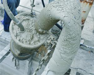 batch plant pump