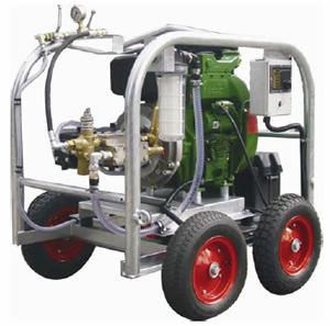 high pressure hydrostatic tester