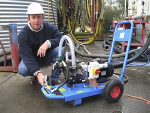 hydrotester hydrostatic test equipment