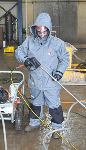 High Pressure Protection Clothing