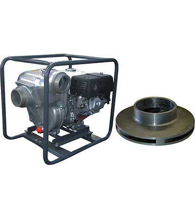 spares high pressure pump with impeller