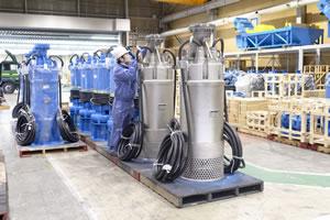 tsurumi stainless steel mine pump