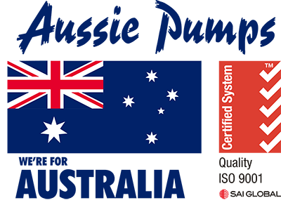 aussie pumps we are for australia and iso 9001 certification