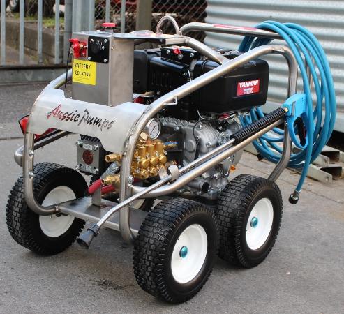 Engine Drive Cold Water Blaster - Aussie Pumps