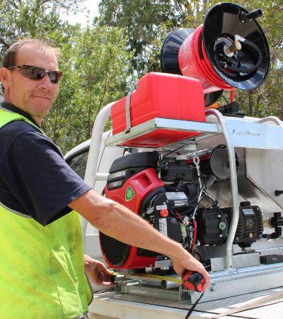 Aussie Cobra Cube Drain Jetter .... compact, class A & class B options