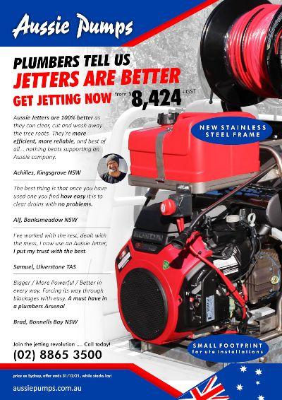 Aussie Jetter CUBE 2021 SPRING SALE